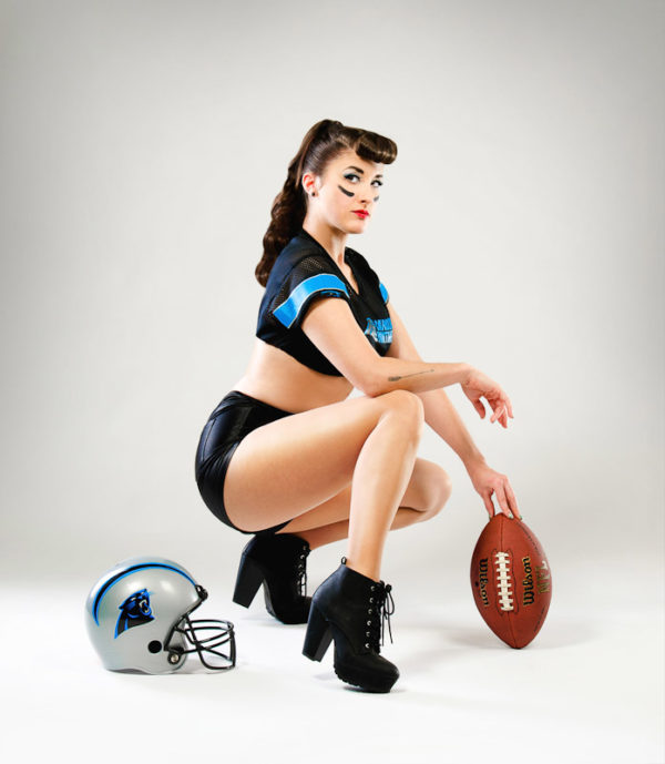 pin up football